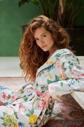 Bathrobe-white-floral-good-evening-pip-studio-cotton-terry-velour