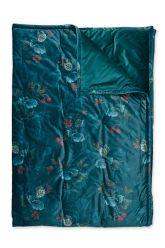 Quilt-Plaids-blau-quilts-decke-130x170-throw-leafy-stitch-pip-studio-gestrickt-velvet