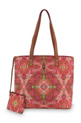 Shopper Medium Moon Delight Red