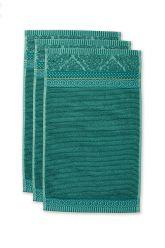 Gästehandtuch-set/3-grün-30x50-cm-pip-studio-soft-zellige-baumwolle