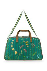 weekend-bag-medium-fleur-grandeur-groen-57x22x37-cm-nylon/satin-1/12-pip-studio-51.273.236
