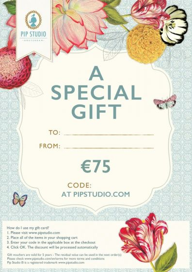 Digitale cadeaukaart €75