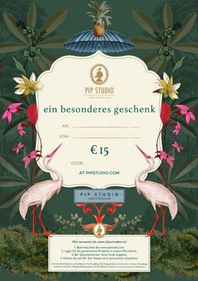 Digitalen Geschenkkarte €15