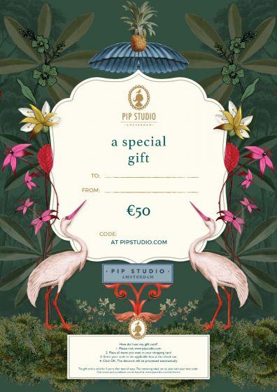 Digitale cadeaukaart €50