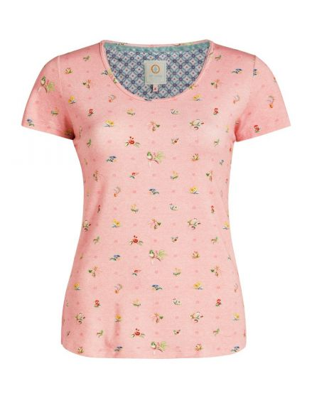 Top short sleeve Moss Pink