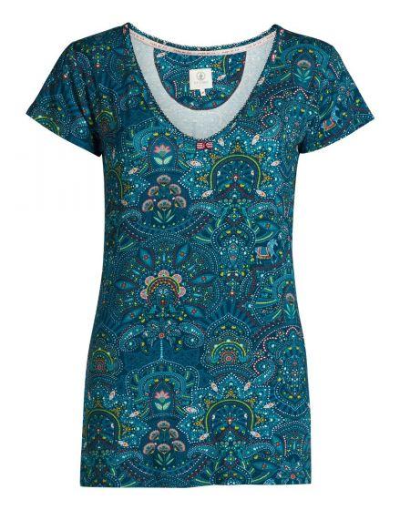Top short sleeve Sunrise Blue