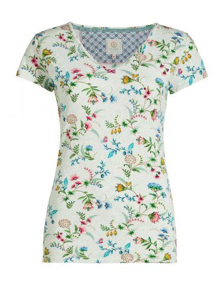 Top short sleeve La Majorelle White