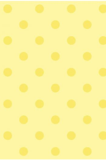 Pip Studio Dots wallpaper yellow