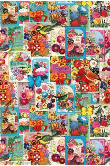 Pip Studio Jardin de Pip Wallpaper Multi