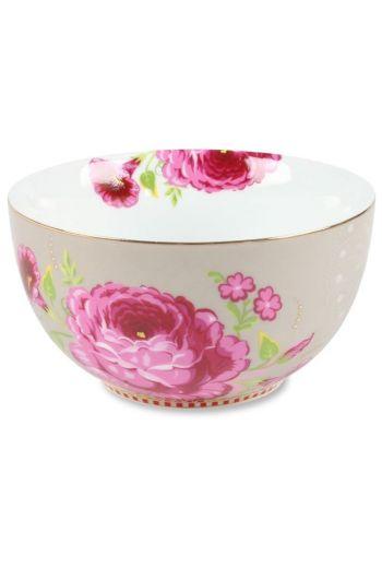 Floral Schale S khaki