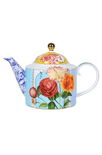 Royal teapot large multicoloured