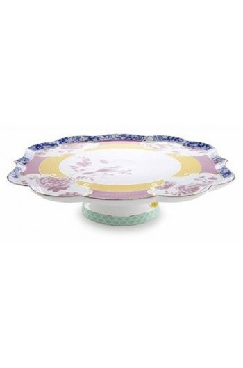 Royal cake platter multicoloured