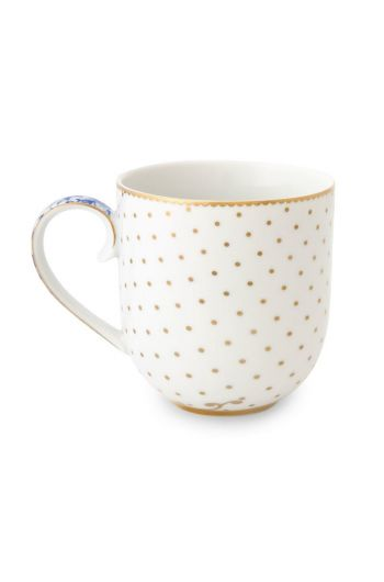 Royal White Mug Small
