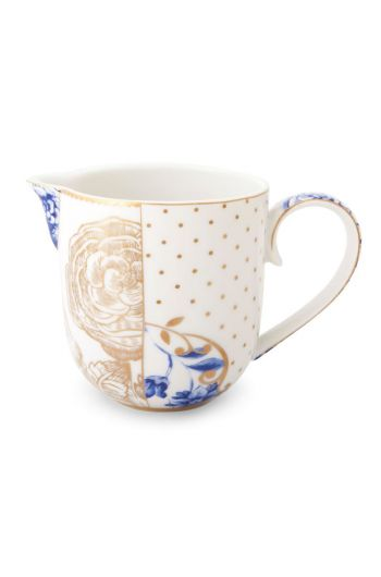 Royal White cream jug