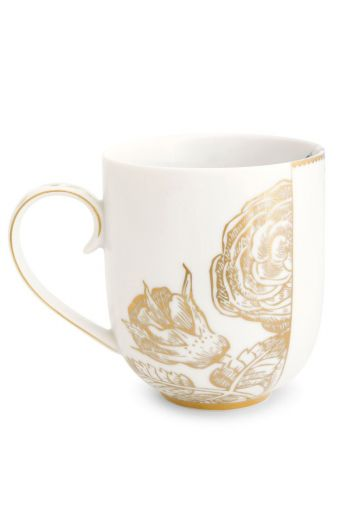 Royal White Mug Large