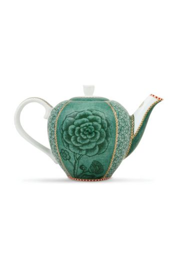 Spring to Life Teapot Small Green