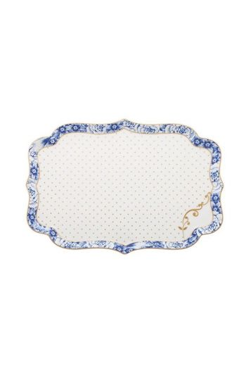 Royal White tray 26 cm