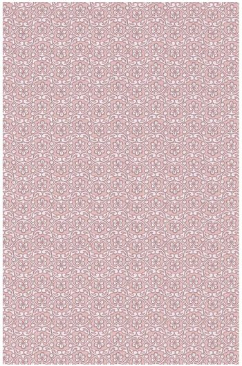 Lacy wallpaper soft pink