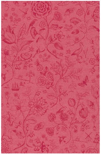 Spring to Life two tone wallpaper red pink