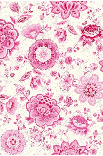 Folklore Chintz behang roze