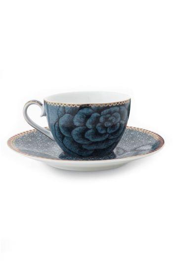 Spring to Life Espresso Cup & Saucer Blue