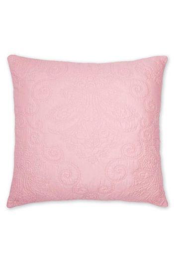 Sierkussen Feeling Quilty vierkant roze