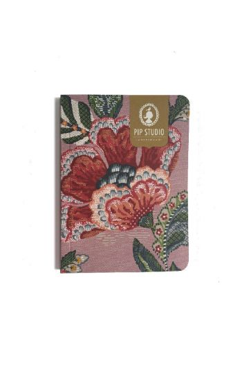 Notebook Small Berry Bird Pink