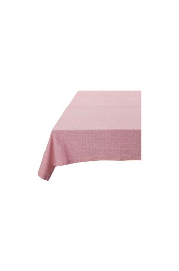 Spring to Life Table Cloth Lacy Pink