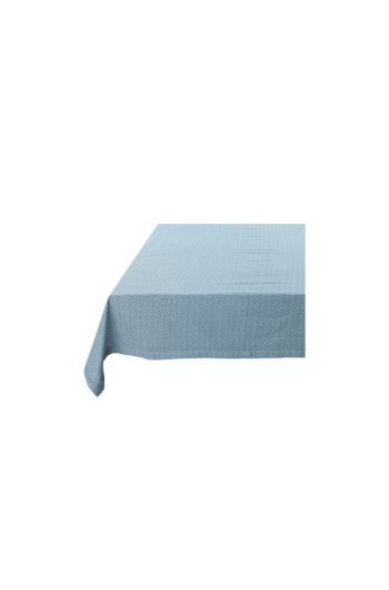Spring to Life Table Cloth Lacy Blue