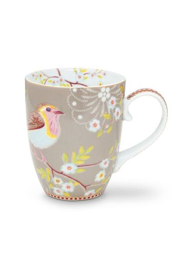 Early Bird Mug Large Khaki