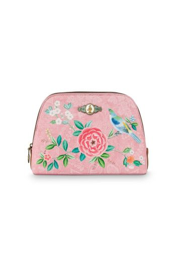 Necessaire medium Floral Good Morning Rosa