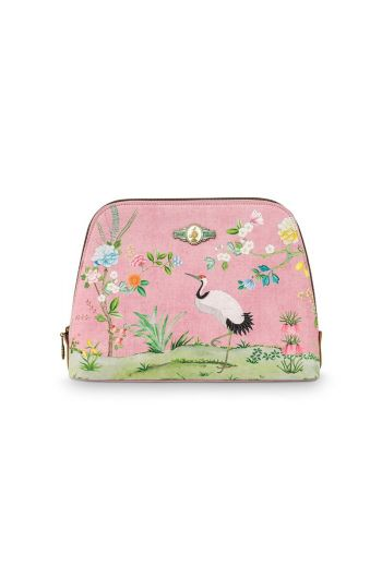 Necessaire groß Floral Good Morning Rosa