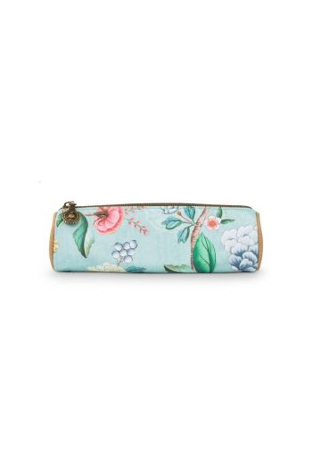 Make-up Pouch Small Floral Good Morning Blue