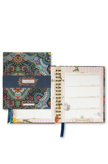 Jaaragenda A5 Moon Delight Blauw