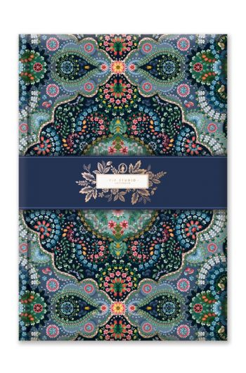 Notebook A4 Moon Delight Blue