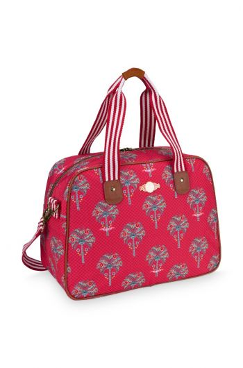 Bowlingbag Jungle Animals red