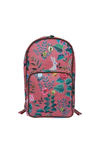 Telling Tales pink backpack