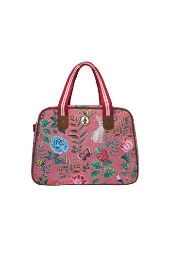 Telling Tales pink bowling bag
