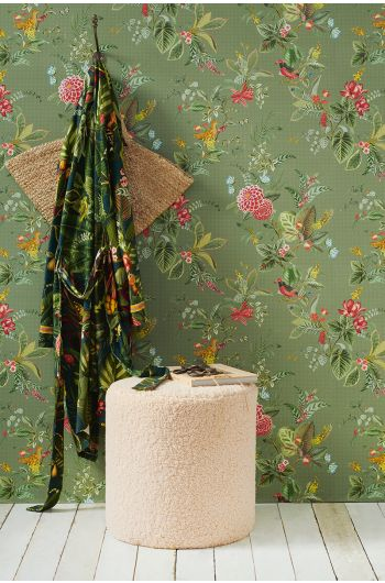 wallpaper-non-woven-vinyl-flowers-green-pip-studio-floris