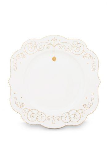 Royal Christmas diner bord - 28 cm