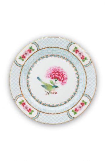 Assiette à pain Blushing Birds Blanc - 17cm