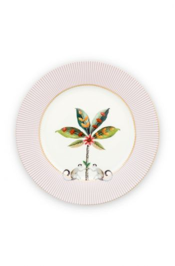 La Majorelle Ontbijtbord Roze 21 cm