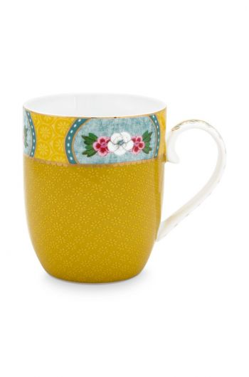 Blushing Birds Mug Small Yellow