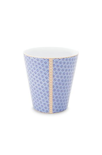 Royal Yerseke Tasse Blau Welle
