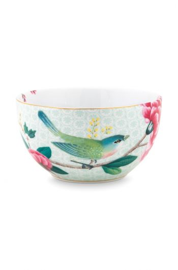 Blushing Birds Bowl white 12 cm