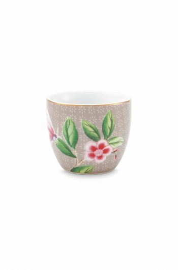 Blushing Birds Egg Cup Khaki
