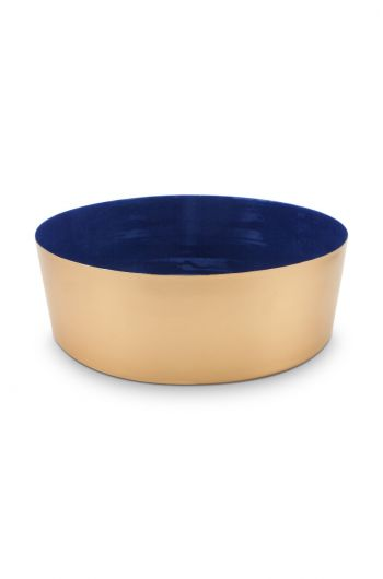 Royal Metal Bowl Gold 26.5 cm