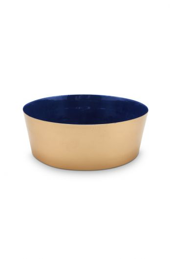 Royal Metal Bowl Gold 19.5 cm