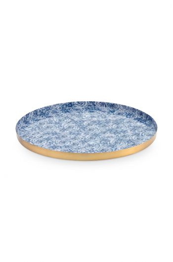 Royal Metal Plate Blue 29.5 cm