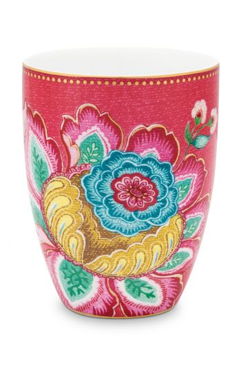 Drinking Cup Jambo Flower Pink